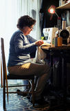 Couture de femme photo libre de droits