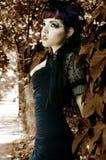 Couture de Goth imagem de stock