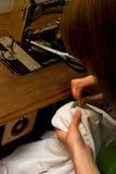 Couture de main Photos libres de droits