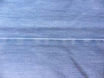 Couture des jeans bleu-clair photo stock