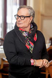 Couturier Rocco Barocco la journée 'portes ouvertes' du premier magasin de mono-marque en Russie Image stock