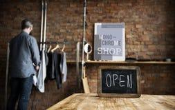 Couturier Stylish Showroom Concept Photo libre de droits