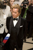Couturier Valentino at Love Ball, Stock Photography