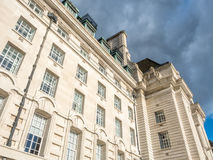 Couty Hall in London Royalty Free Stock Photos