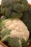 Couve-flor 259 dos bróculos Fotos de Stock Royalty Free