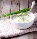 Couve-flor, pastinaga, batata, sopa do aipo Foto de Stock Royalty Free
