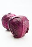 Couve roxa fresca Fotografia de Stock Royalty Free
