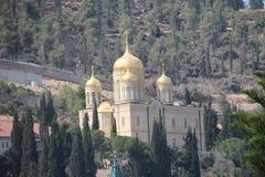 Couvent de Gornensky à Jérusalem Ein Karem photos libres de droits