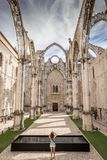 Couvent de notre Madame de bâti Carmel Portuguese : Convento DA Ordem font Carmo photographie stock