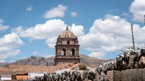 Couvent de Santo Domingo dans le complexe de Koricancha, Cusco, Pérou photos stock