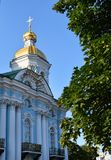 Couvent de Smolny ou couvent de Smolny de la résurrection Voskresensky photos stock