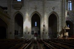 Couvent de St Stephen Escalier de Soto Salamanque l'espagne images stock