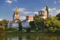 Couvent Novodevichy Photo libre de droits