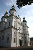 Couvent saint d'hypothèse d'Eletsky, Chernigiv, Ukraine images libres de droits