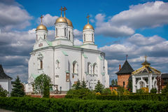 Couvent saint de Zimnenskiy Dormition Photos stock