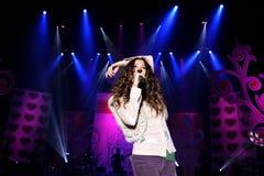 Couvert de palmiers a eu pour exécuter son concert vivant à, amour de couleur de HP de concert en février 2007 Photos libres de droits