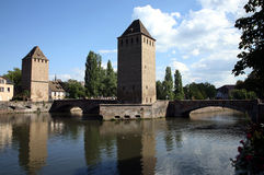 couverts Ponts Strasbourg France zdjęcie royalty free