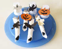 Couverts pour Halloween Photos stock