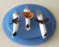 Couverts pour Halloween Image libre de droits