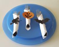 Couverts pour Halloween Images libres de droits