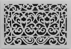 Couverture antique de conduit Photo stock