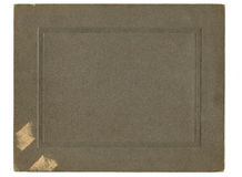 Couverture antique de photo Photos stock