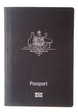 Couverture australienne de passeport Image libre de droits