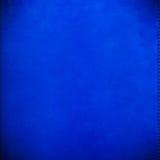 Couverture bleue de velours Image libre de droits