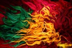 Couverture colorée Photos stock