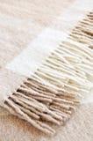 Couverture confortable de laines d'alpaga Photographie stock libre de droits