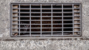 Couverture d'égout Image stock