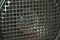 Couverture de bruit en métal Image stock