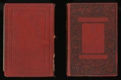Couverture de livre antique de journal de journal intime de vintage Image stock