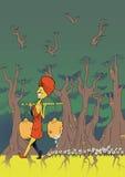 Couverture de livre d'enfants Photo stock