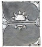 Couverture de livre magique illustration de vecteur