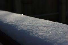 Couverture de neige Photographie stock