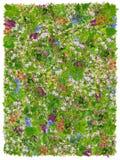 Couverture de prières verte de Pâques Photos stock