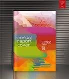 Couverture de rapport annuel pour la société ambiante, l'énergie, et illustration stock