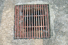 Couverture de trou d'homme d'égout Image libre de droits