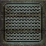Couverture de trou d'homme (texture sans couture) Images libres de droits