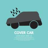 Couverture de voiture Photo libre de droits