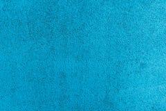 Couverture en caoutchouc au sol bleue de voie courante Images stock