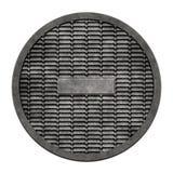 Couverture en métal d'égout (serie de trou d'homme) Photos stock