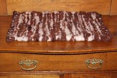 Couverture faite main de laine photo libre de droits