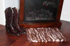 Couverture faite main de laine image libre de droits