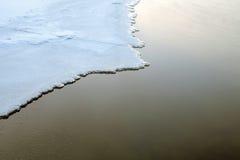 Couverture glaciale Photos libres de droits