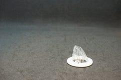 Couverture jetable d'appui vertical d'oreille Photo libre de droits