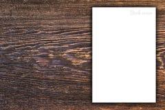 Couverture vide de livre ou de magazine Images stock