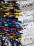 Couvertures de frange pliées par Mexicain Images libres de droits