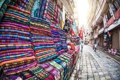 Couvertures de laine de yaks Images libres de droits